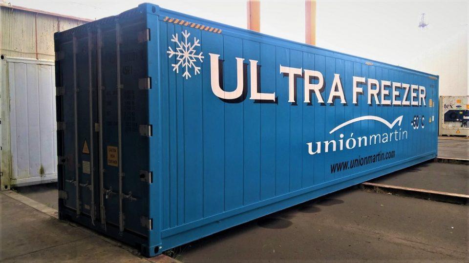 Nuevo contenedor -60ºC Ultrafreezer